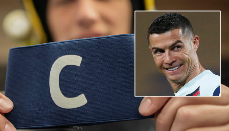 Mother's joy after Ronaldo's armband, which he hurled after Serbia