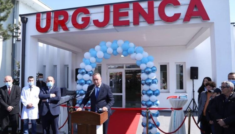 The new Emergency facility in Deçan is inaugurated