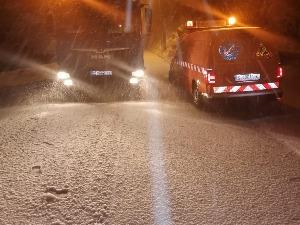 Snow over Dalmatia, historical snow cover in Split