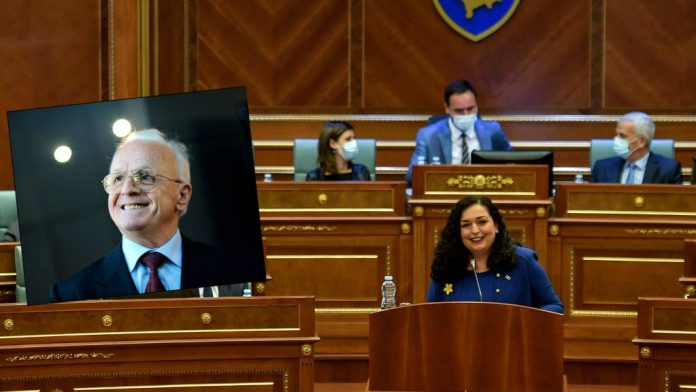 Demaçi's young woman has a few words for President Vjosa