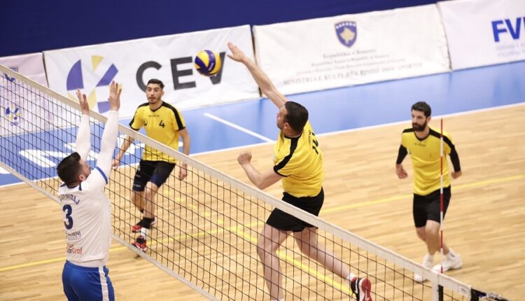 Peja wins the Kosovo Cup in volleyball
