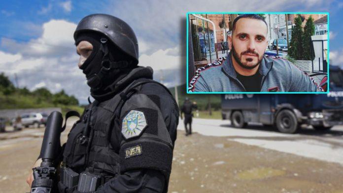 Kosovo Police action in a restaurant in Podujeva, Besim Hajdari