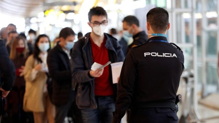 Spain, mandatory quarantine for Latinos and Africans