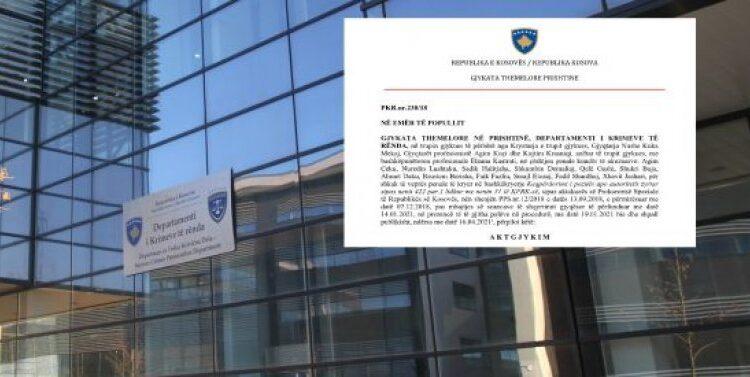 Written reasoning of the Basic Court in Prishtina, for the