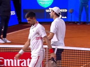 Serbia opened without Novak in the final, Karacev celebrated after