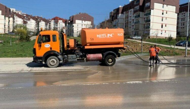 The Municipality of Prishtina starts cleaning all roads