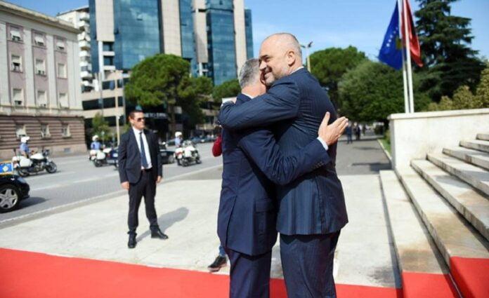 """Brother Edi! Take care of Albania and Kosovo """