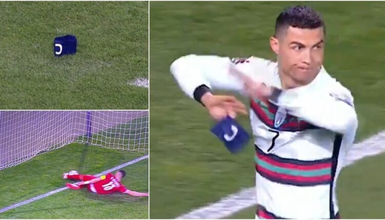 Armband flung to floor in epic Cristiano Ronaldo strop goes