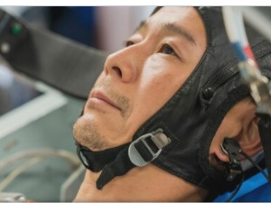 A billionaire from Japan, before traveling to the moon, would