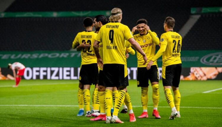 Dortmund wins the German Cup