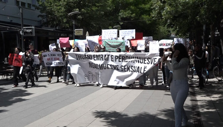 Protest in Mitrovica: Say the names of rapists and sexual
