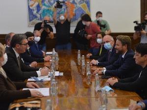 "Vučić met with representatives of the company ""Bizerba"""