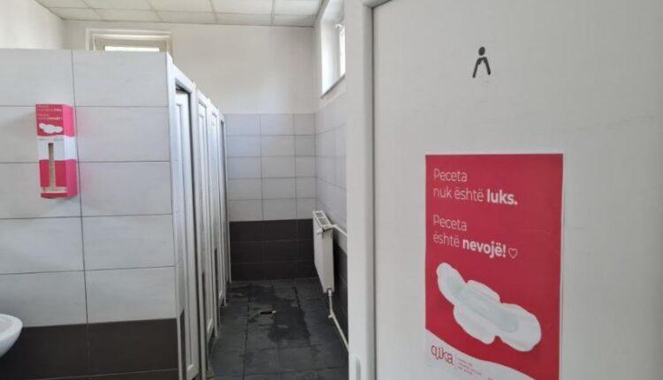 Free menstrual napkins for Menstrual Hygiene Day