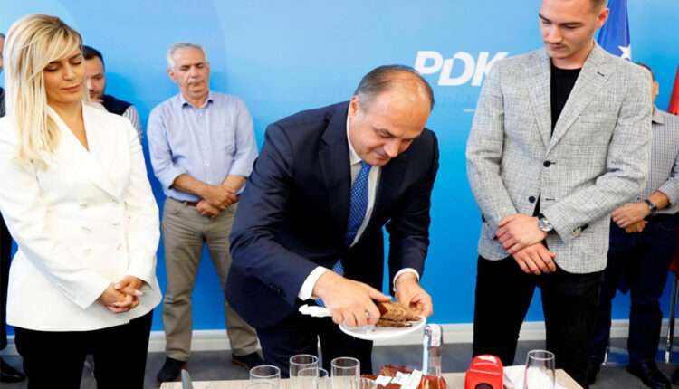 PDK celebrates Vesel's birthday, Hoxhaj: You will return victorious and
