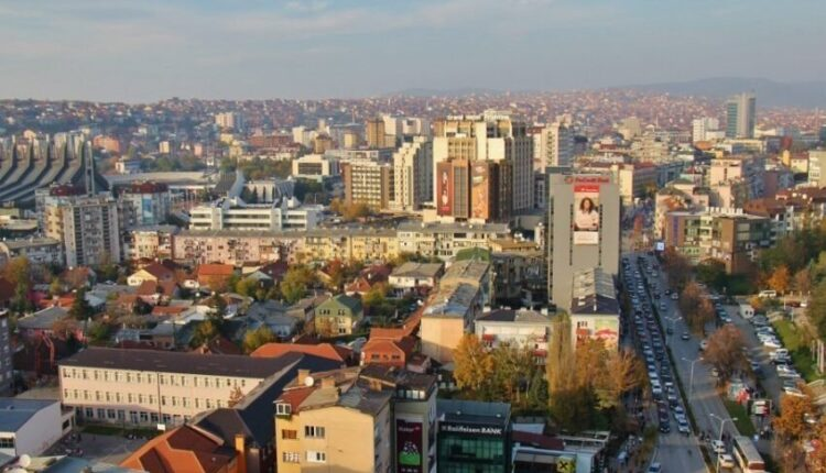 The number of active cases of coronavirus in Prishtina is