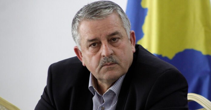 Agim Veliu dismissed from the post of chairman of the