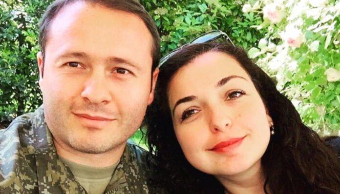 Prindon Sadriu, the husband of President Vjosa Osmani, is threatened