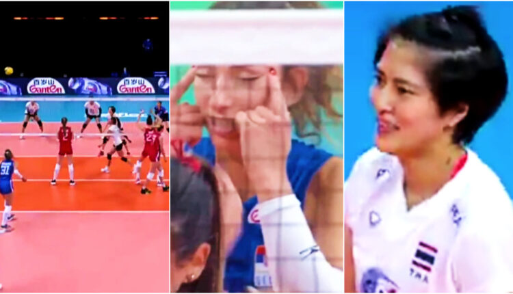 Serbia volleyball ace banned for racist eye gesture towards Thai