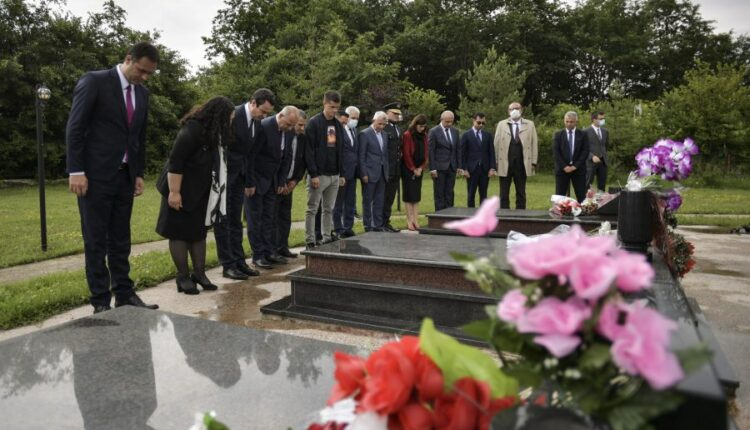 Peace Day is marked in the backyard where 53 civilians