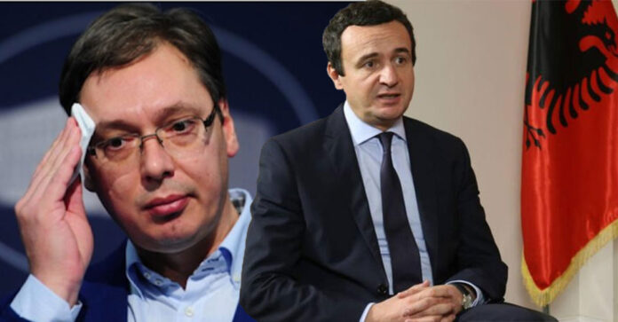 The EU office details the Kurti-Vucic meeting in Brussels on Tuesday
