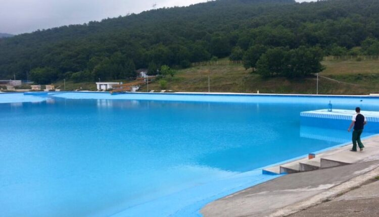 Today at 10:00 the Germia Pool will open