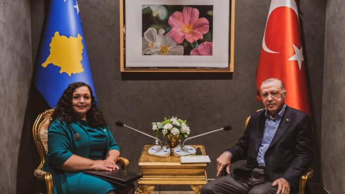 Osmani and Erdogan talk about deepening cooperation between Kosovo and