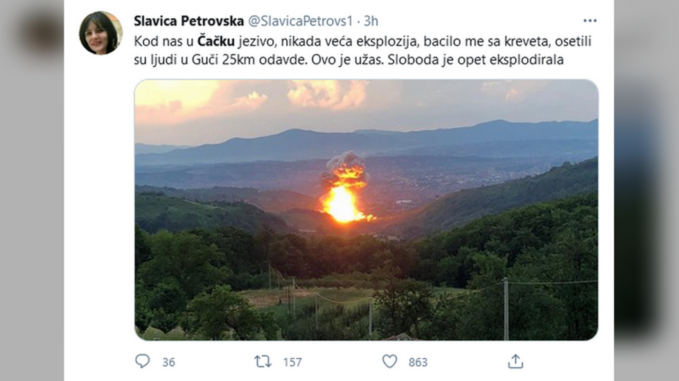 At least 3 injured & evacuation ordered after blasts rock Serbia ammunition factory for 2nd time in a MONTH (VIDEOS) — RT World News