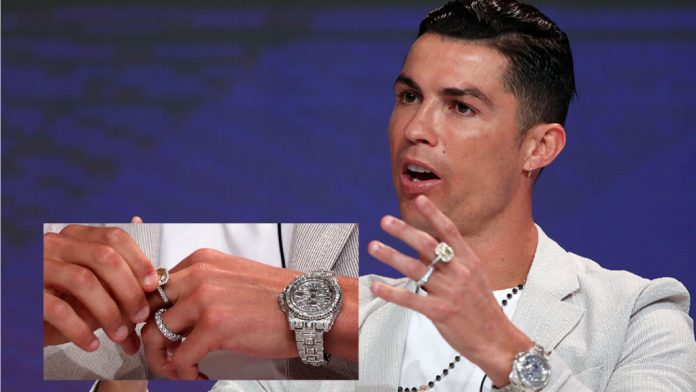 Cristiano Ronaldo possesses the most expensive watch in history