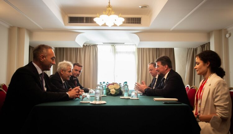 Ahmeti – Lajçak: Kosovo and Serbia to find solutions that
