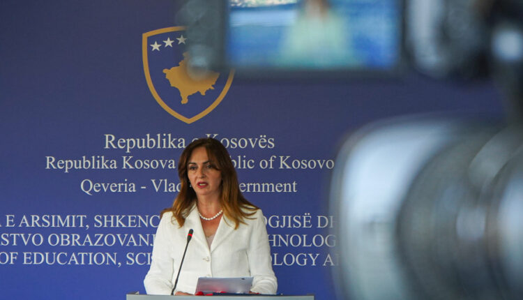 Minister Arbërie Ngavci reports today to the Commission for Education