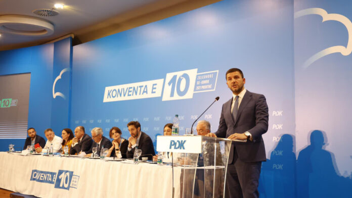 Krasniqi gathers the heads of PDK branches