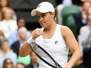 After the marathon, Barty beat Plišková and won Wimbledon