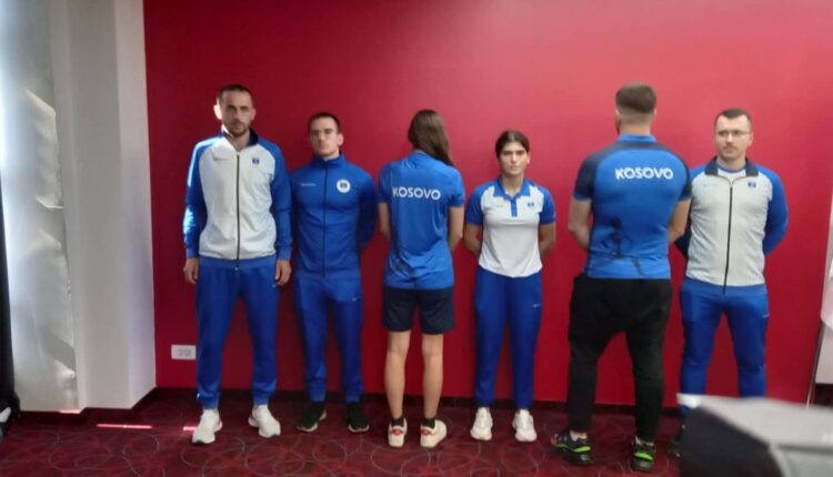 The uniform of the Kosovo Olympic team is presented