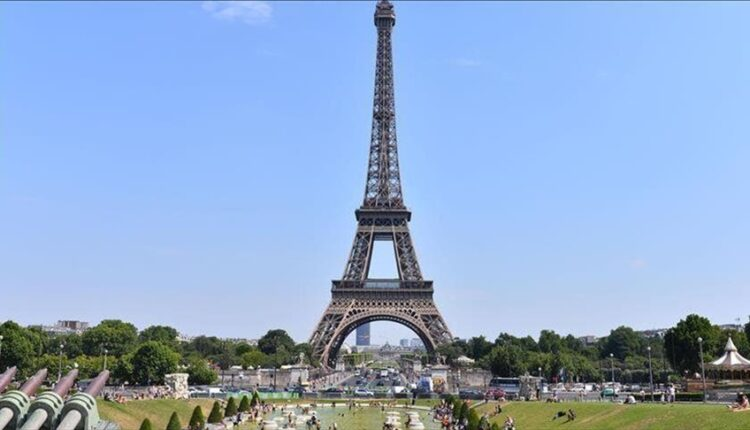The Eiffel Tower in Paris reopens to visitors