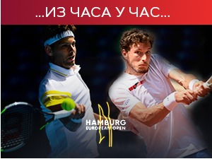 None of the title, Krajinovic defeated in the final of