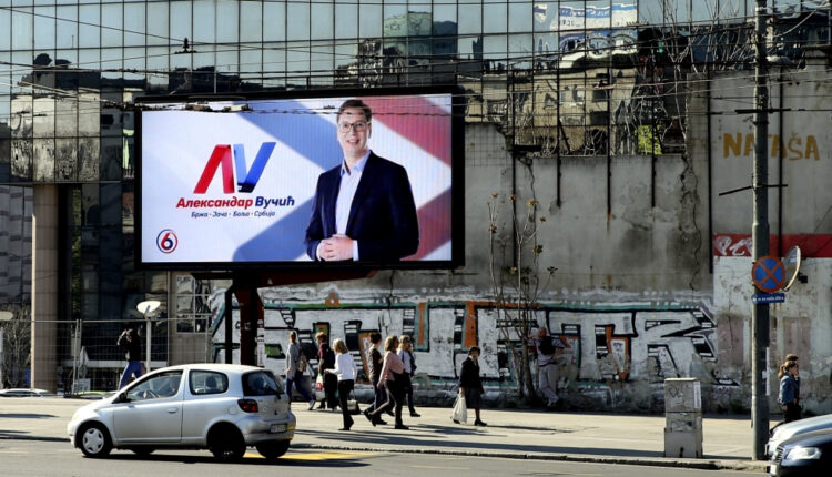 Aleksandar Vucic projected to win presidential election   Serbia News