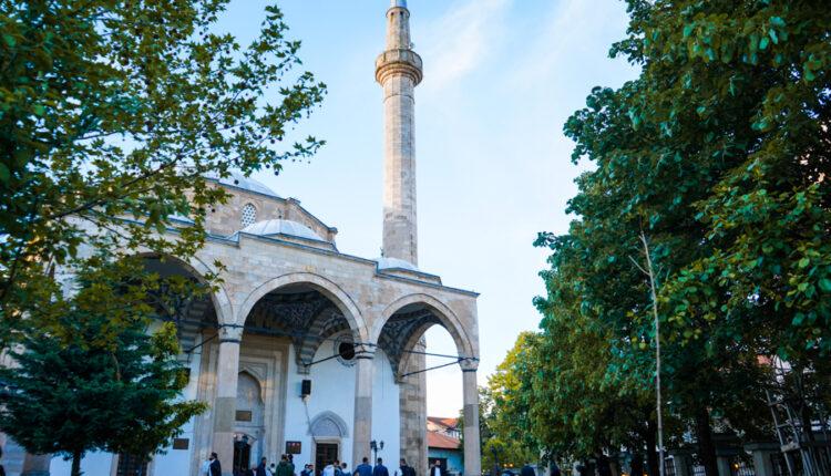 Muslim believers celebrate Eid al-Adha