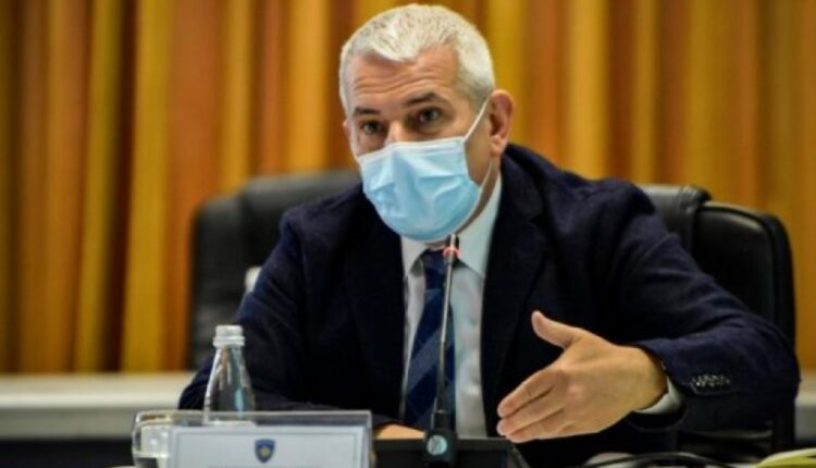 Xhelal Sveçla reports to the Finance Committee