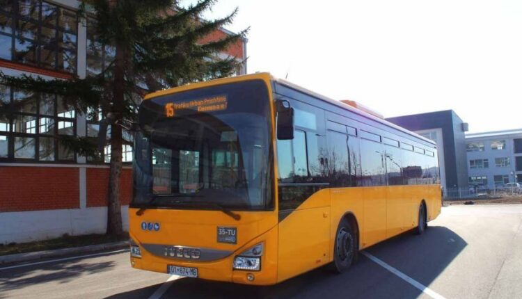 Prishtina this year is made with 30 new buses