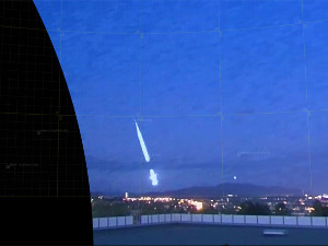 A meteor illuminates the night sky over Norway, experts are