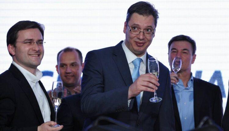 Serbia's election winner Aleksandar Vucic promises reforms