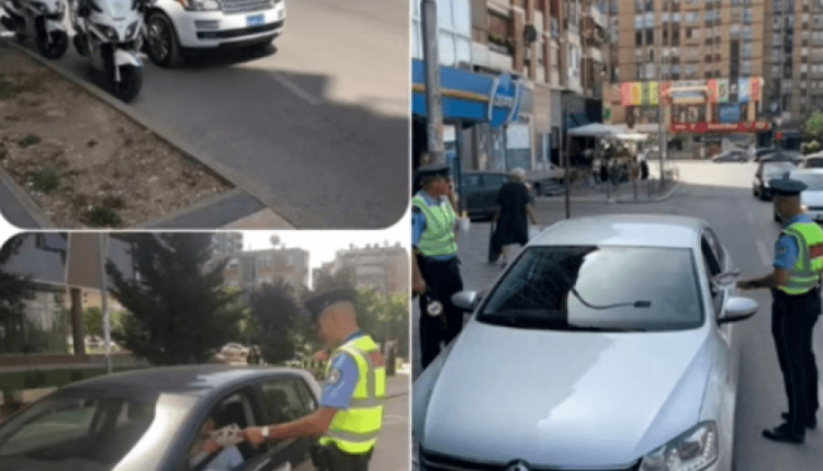 Strict vehicle controls in Pristina by the Kosovo Police