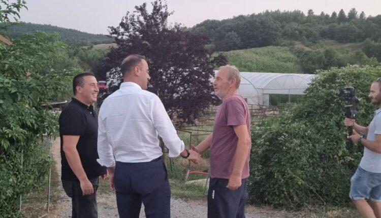 Daut Haradinaj visits the farmers of Prishtina, here is what
