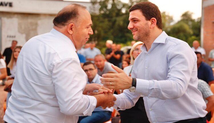 Memli Krasniqi presents the candidate for mayor of Klina