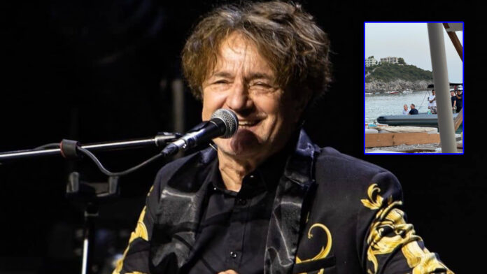 Goran Bregovic arrives in the south of Albania, rests with
