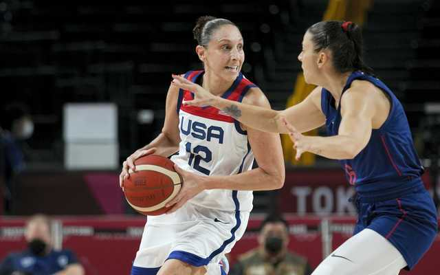 Griner leads US to gold medal game with 79-59 win
