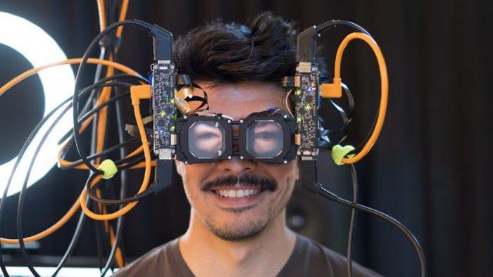 Facebook introduces transparent VR glasses