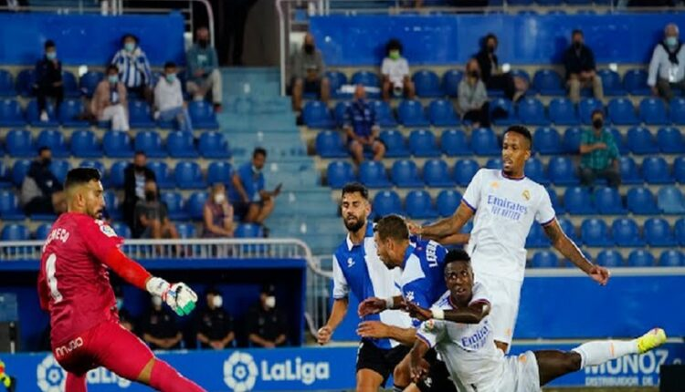 Real Madrid defeats Alaves at the opening of the new