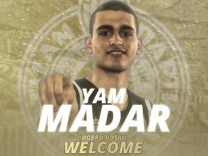 Young Israeli Jam Madar is the seventh reinforcement of Partizan