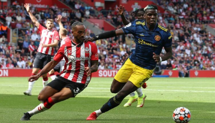 United is suffering from Southampton after the first part –